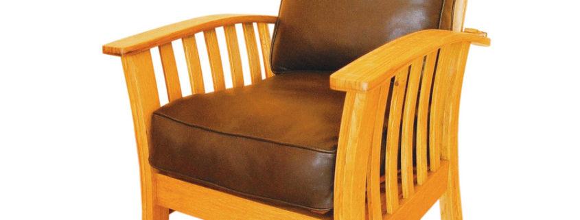 Zinfandel morris chair